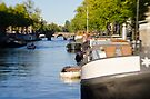 Amsterdam: On the Canals by Kasia-D
