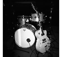 JP Soars' Guitar & Drum Kit Photographic Print
