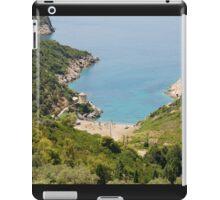 Gialia beach, Alonissos iPad Case/Skin