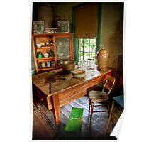 The Housekeeper's Kitchen at Buda Poster