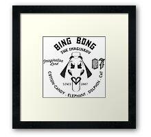 Bing Bong Crest Framed Print
