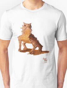 """""""Determined Lizard"""" T-Shirt"""