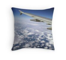 Flying part 2 Throw Pillow