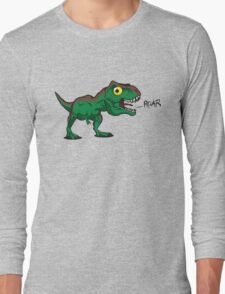 Tiny Cute Baby Trex Long Sleeve T-Shirt