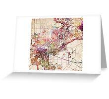 Sacramento map Greeting Card