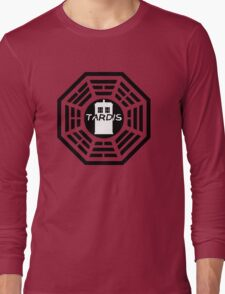 Dharma TARDIS Logo Long Sleeve T-Shirt