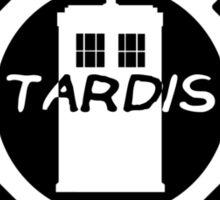 Dharma TARDIS Logo Sticker