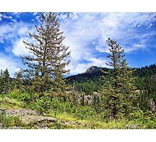 Hall Peak (Bob Marshall Wilderness, Montana, USA) Photographic Print