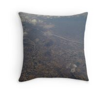 Flying part 6 Throw Pillow