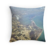 Flying part 8 Throw Pillow
