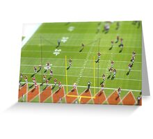 Football Season for the Broncos Greeting Card