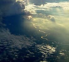 Sun Rays through the Clouds by Tim Coleman