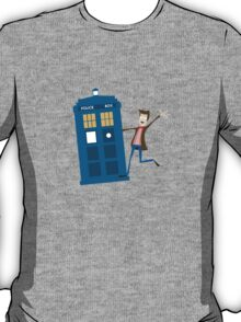 Doctor and The Tardis T-Shirt