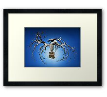 Its a small world Framed Print