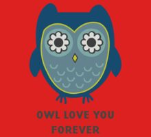 Owl Love You Forever Kids Tee