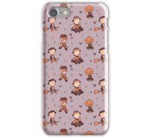 homesick at spook camp - purple iPhone Case/Skin