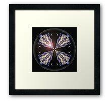 The Black Sphere Framed Print