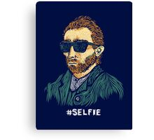 Van Gogh: Master of the Selfie Canvas Print