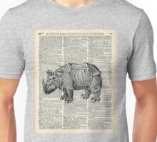Fantasy steampunk Rhinoceros Unisex T-Shirt