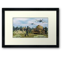 Hawker Typhoons on the Job Framed Print