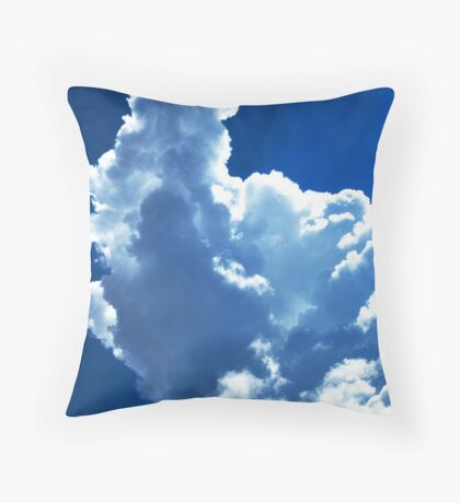 My Head is in the Clouds Throw Pillow