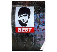 George Best Portraiture  Poster