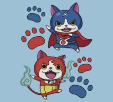 Yo-Kai Watch - Jibanyan and Fuyunyan! Kids Clothes