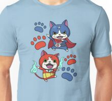 Jibanyan and Fuyunyan Unisex T-Shirt
