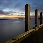 Ocean Sunset - Werribee south pier by picturetaker