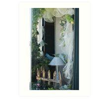 Woodside Florist; Whittier, CA USA (The Talk; Photojournalism Lei Hedger) Art Print