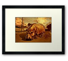 A Big Day Out.  Framed Print