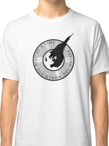 Saving the world.... Classic T-Shirt
