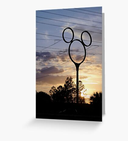Orlando Sunset Greeting Card
