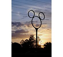 Orlando Sunset Photographic Print