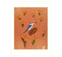 Kingfisher Dreaming Art Print
