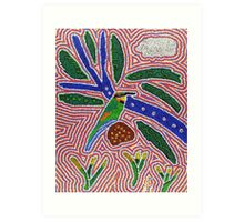 Rainbow Bee-eater Dreaming Art Print