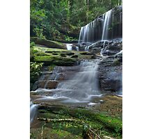 Falls  from the side Photographic Print