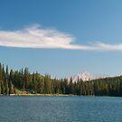Cloud above lake by zumi