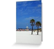 Clearwater Beach, Ahhhhhh! Greeting Card
