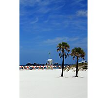 Clearwater Beach, Ahhhhhh! Photographic Print