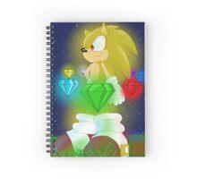 Super Sonic Spiral Notebook