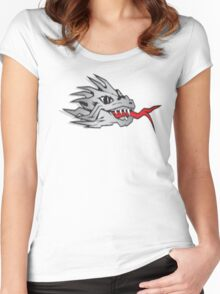 Dragon fire Women's Fitted Scoop T-Shirt