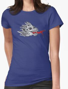 Dragon fire Womens Fitted T-Shirt