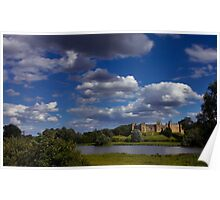 Under A Moving Sky. Framlingham Castle. Poster