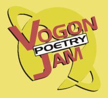 Vogon Poetry Jam (just logo) Kids Tee
