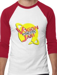 Vogon Poetry Jam (just logo) Men's Baseball ¾ T-Shirt