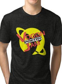 Vogon Poetry Jam (just logo) Tri-blend T-Shirt