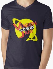 Vogon Poetry Jam (just logo) Mens V-Neck T-Shirt