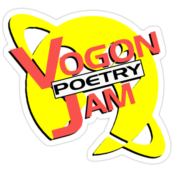 Vogon Poetry Jam (just logo) by Anthony Pipitone