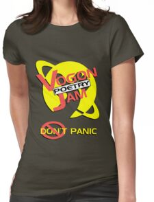 Vogon Poetry Jam Womens Fitted T-Shirt